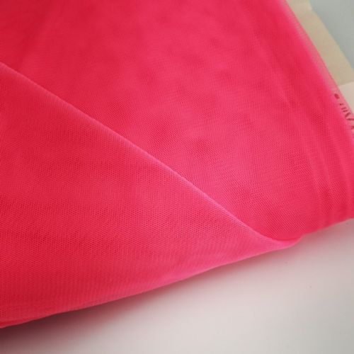 Soft Tull | Hot Pink | 150 cm Poly Tulle Blush